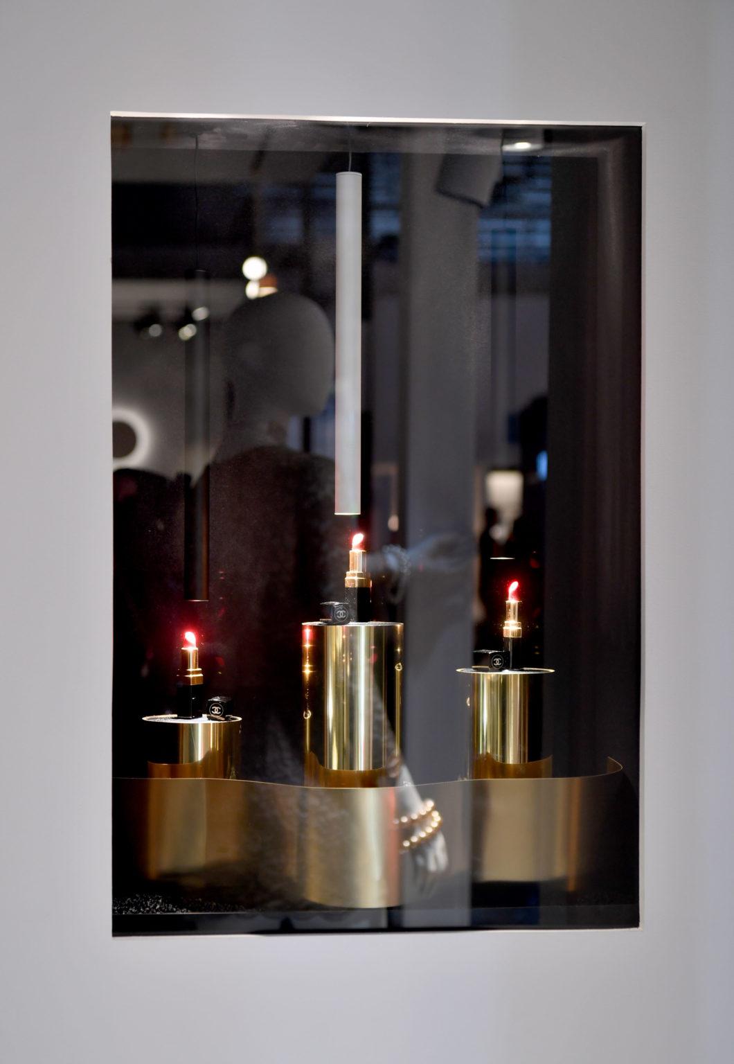 Detail Vitrine Lipstick